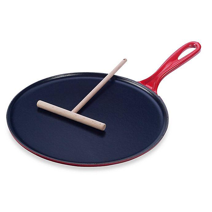 Le Creuset® 10.75-Inch Cast Iron Crepe Pans   Bed Bath & Beyond