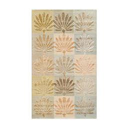 Martha Stewart by Safavieh 2'6 x 4'3 Sanctuary Accent Rug in Multi