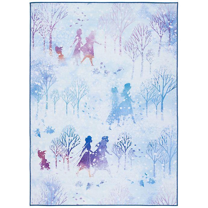 Alternate image 1 for Disney® Frozen 2 Believe Rug in Light Blue/Purple
