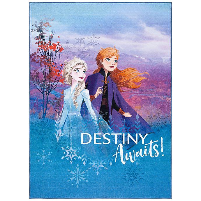Alternate image 1 for Disney® Frozen 2 Destiny Rug in Blue