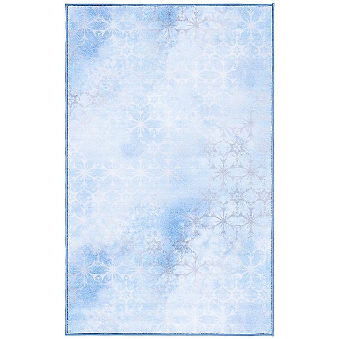 Alternate image 1 for Disney® Frozen 2 Courage 3'3 x 5'3 Area Rug in Light Blue