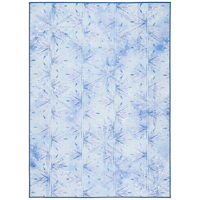 Alternate image 1 for Disney® Frozen 2 Element Rug in Light Blue