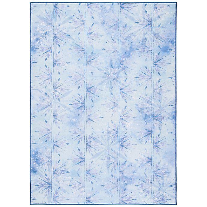 Alternate image 1 for Disney® Frozen 2 Element 5' x 7' Area Rug in Light Blue
