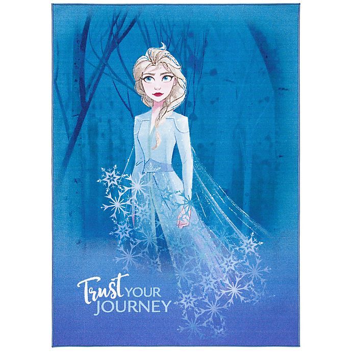 Alternate image 1 for Disney® Frozen 2 Journey Rug in Blue