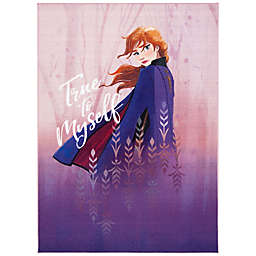 Disney® Frozen 2 Truth Rug in Violet