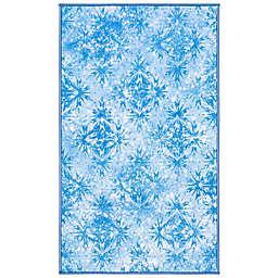 Disney® Frozen 2 Ice 2'3 x 3'9 Accent Rug in Blue