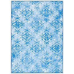 Disney® Frozen 2 Ice Rug in Blue