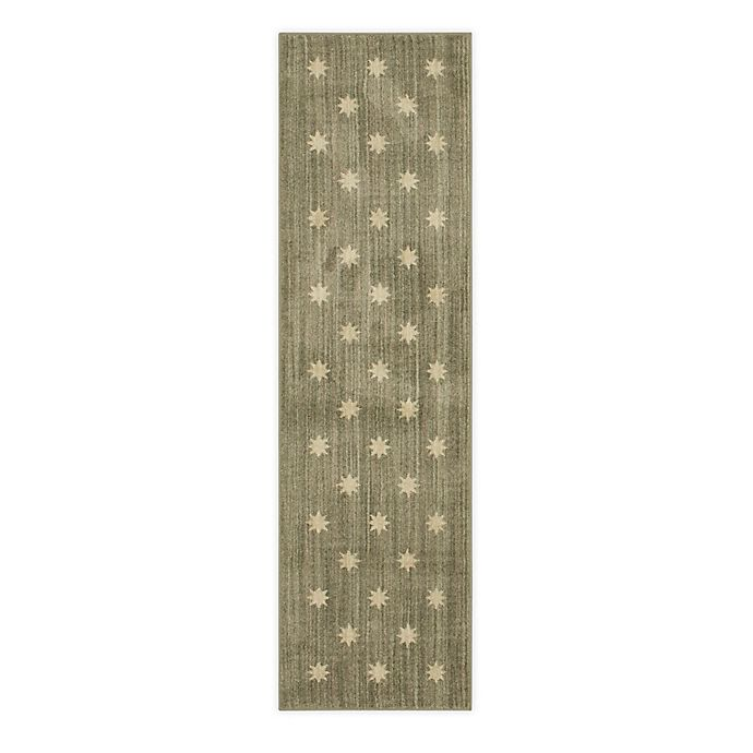 Alternate image 1 for Bee & Willow™ Gibson 2' x 7' Runner in Grey