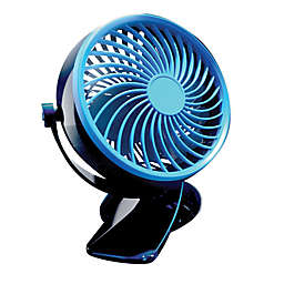 Go Fan™ Stationary Clip Fan in Blue