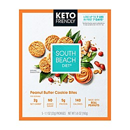 South Beach Diet® 5-Count Keto-Friendly Peanut Butter Cookie Bites