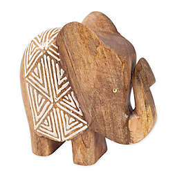 Global Caravan™ Large Wooden Elephant