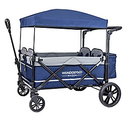 Wonderfold Wagon X4 Push and Pull Quad Stroller Wagon