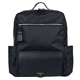 TWELVElittle Peek-A-Boo Diaper Backpack in Black