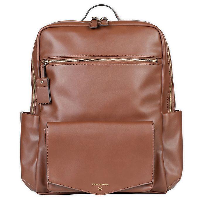 Alternate image 1 for TWELVElittle Peek-A-Boo Diaper Backpack