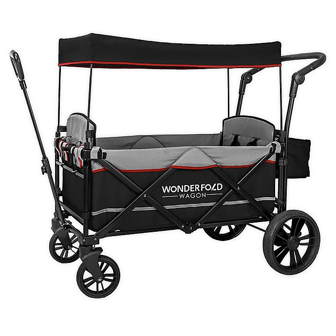 Alternate image 1 for WonderFold Wagon X2 Double Stroller Wagon