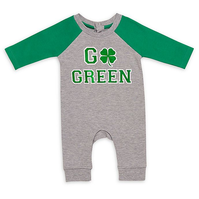 Alternate image 1 for Baby Starters® Go Green Coverall in Green