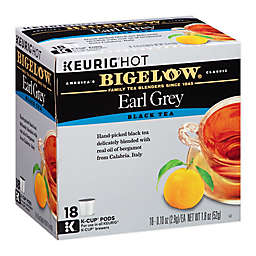 Bigelow® Earl Grey Black Tea Keurig® K-Cup® Pods 18-Count