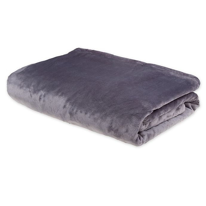 Alternate image 1 for Brookstone® NAP Footed Throw Blanket