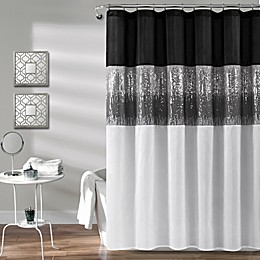 Lush Decor Night Sky Shower Curtain