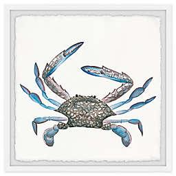 Parvez Taj Big Blue Crab Framed Wall Art