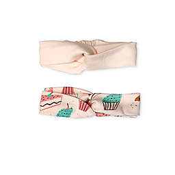 Finn by Finn + Emma® 2-Pack Cupcake Organic Cotton Headbands