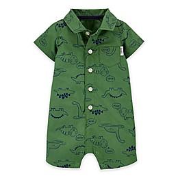 carter's® Dinosaurs Romper in Green