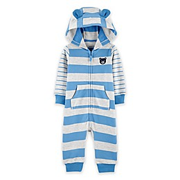 carter's® Striped French Terry Hooded Coverall