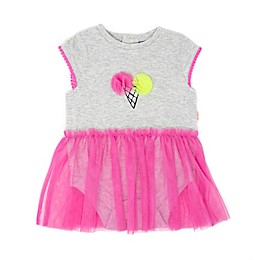 Mini Heroes™ Ice Cream Tutu Bodysuit in Grey