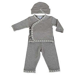 Sippy's Babes Take Me Home Set in Grey with Black/White Trim