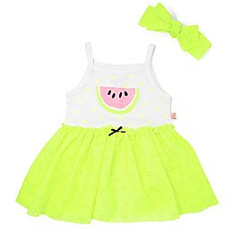 Mini Heroes™ Lime Watermelon 2-Piece Bodysuit Tutu and Headband Set