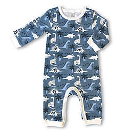 Modern Baby® Dinosaur Coverall in Blue