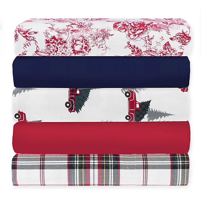 Alternate image 1 for Bee & Willow™ Home Flannel Pillowcase