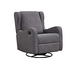 Westwood Design Skylar Swivel Glider and Recliner in Steel