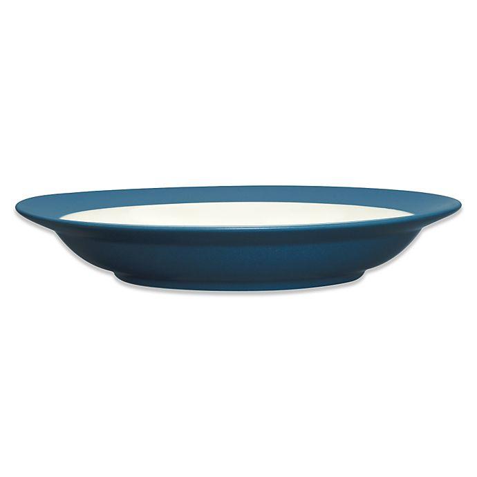 Alternate image 1 for Noritake® Colorwave Rim Pasta Bowl in Blue
