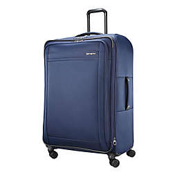 Samsonite® Signify 2 LTE 29-Inch Softside Spinner Checked Luggage in Navy