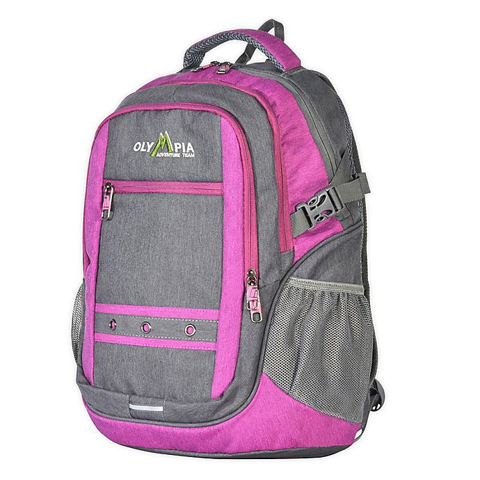 Alternate image 1 for Olympia® USA Eagle 18.5-Inch Laptop Backpack