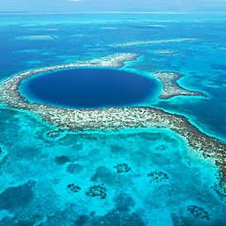 Belize: Great Blue Hole Aerial Tour by Spur Experiences®