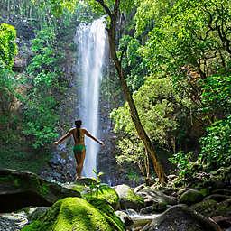 Kauai Wailua Sacred Falls Paddle and Hike by Spur Experiences®