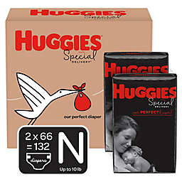 Huggies® Special Delivery™ Newborn 132-Count Disposable Diapers
