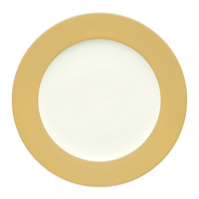 Alternate image 1 for Noritake® Colorwave Rim Dinner Plate in Mustard