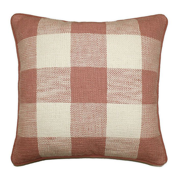 Alternate image 1 for Buffalo Check Square Throw Pillow