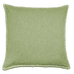 Solid Stitch Textured Square Throw Pillow