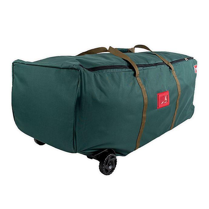 Alternate image 1 for TreeKeeper™ Big Wheel Tree Storage Duffel Bag in Green