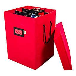 Santa's Bags 17-Inch Nutcracker Storage Box in Red