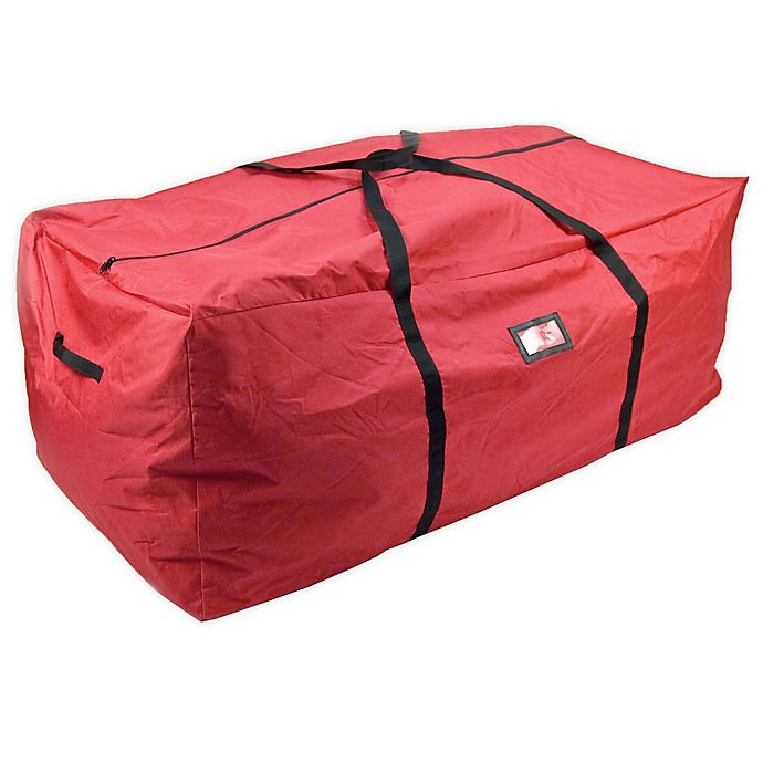 Alternate image 1 for Santa's Bags X-Large Tree Storage Bag in Red