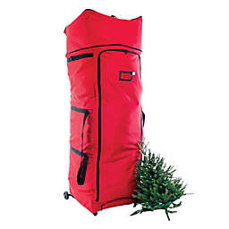 Santa's Bags Rolling Expandable XXL Tree Storage Duffel in Red