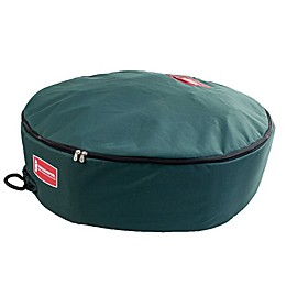TreeKeeper™ Wreath Storage Bag with Direct Suspend in Green