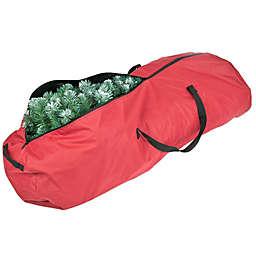 Santa's Bags Medium Rolling Tree Storage Bag in Red