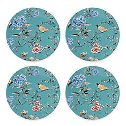 Lenox® Sprig & Vine Accent Plates in Turquoise (Set of 4)