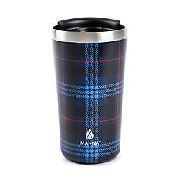 Manna™ 18 oz. Ranger Pint Travel Mug in Blue Plaid